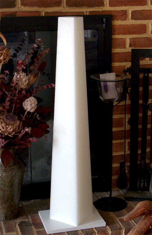 3 Foot Pillar Candle